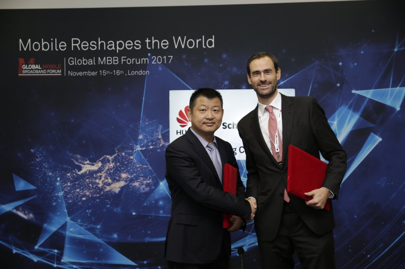 Schreder Huawei sign MoU partnership to light connect cities